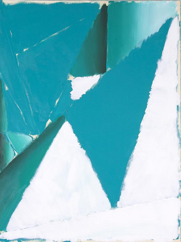 geometry_04  acrylic on canvas  73 X 60 cm  2013