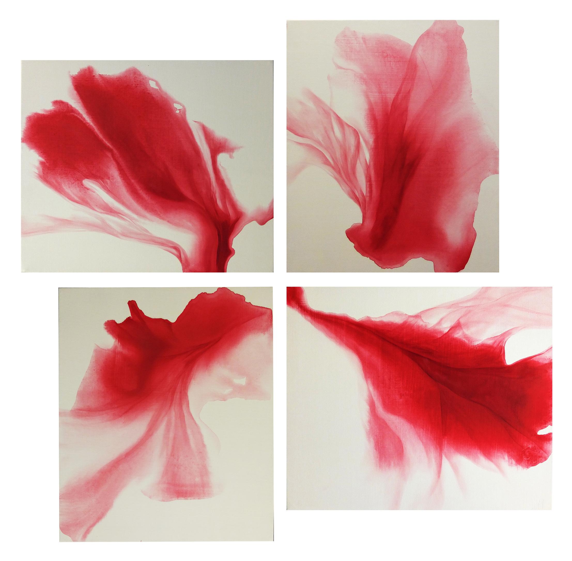 ephemeral_05  oil on canvas  53 X 45.5 cm / per each  2017