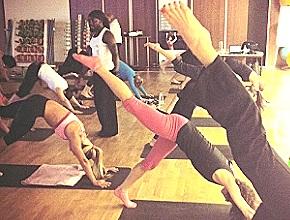 Budokon Yoga workshop in Bucharest - Romania  (Courtesy of Fitness Scandinavia)