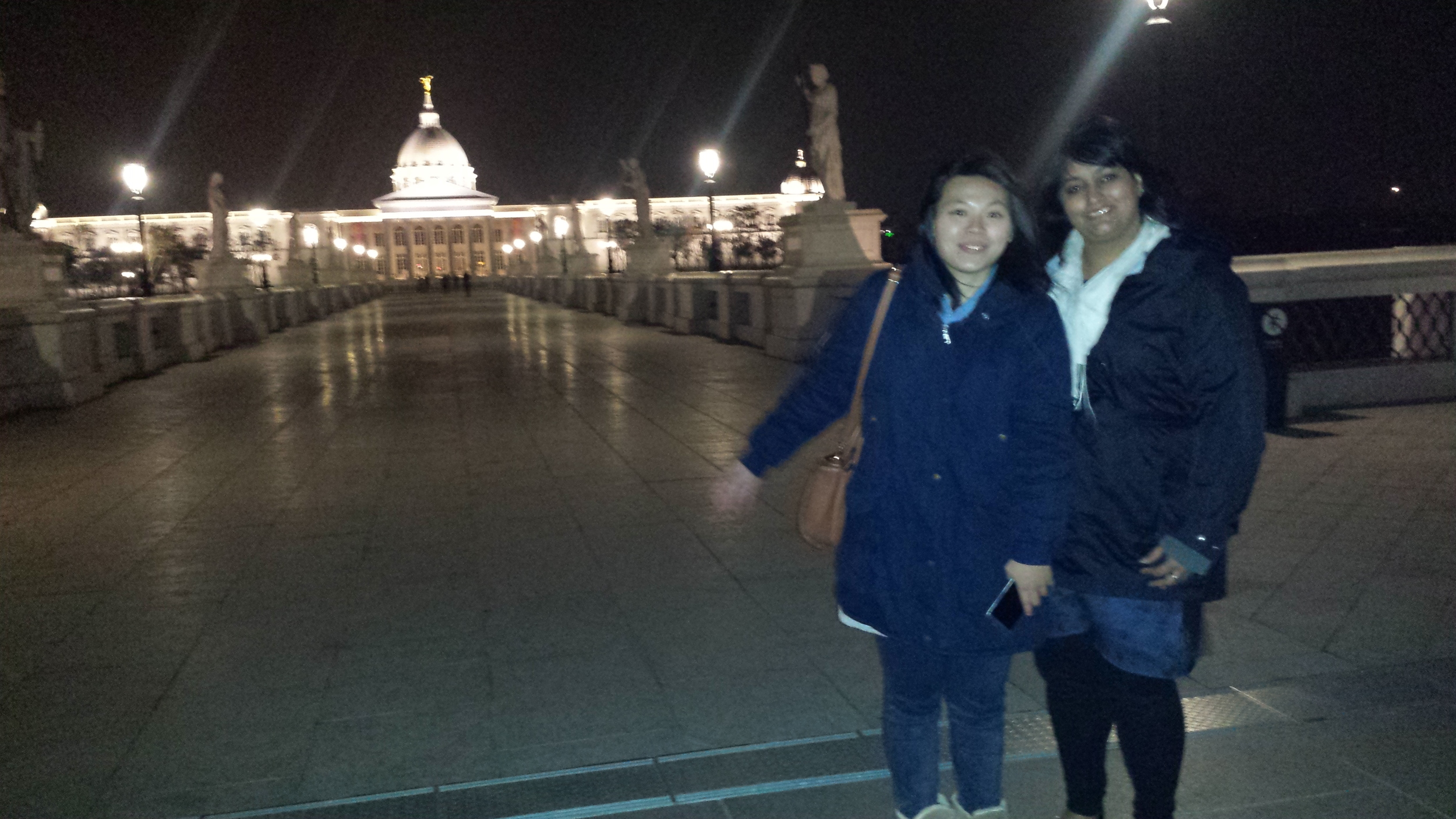 Wendy and I at Chimei museum in Tainan