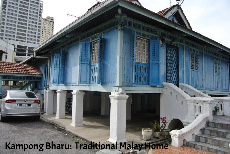 Dampong Bharu -Traditional Malay Homes built in the 1920's (2).JPG