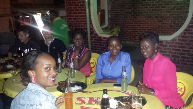 My colleagues at African Entrepreneur Collective, highly motivated and intelligent group of women