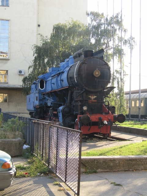 The train that carried Tito's body to Belgrade for funeral services