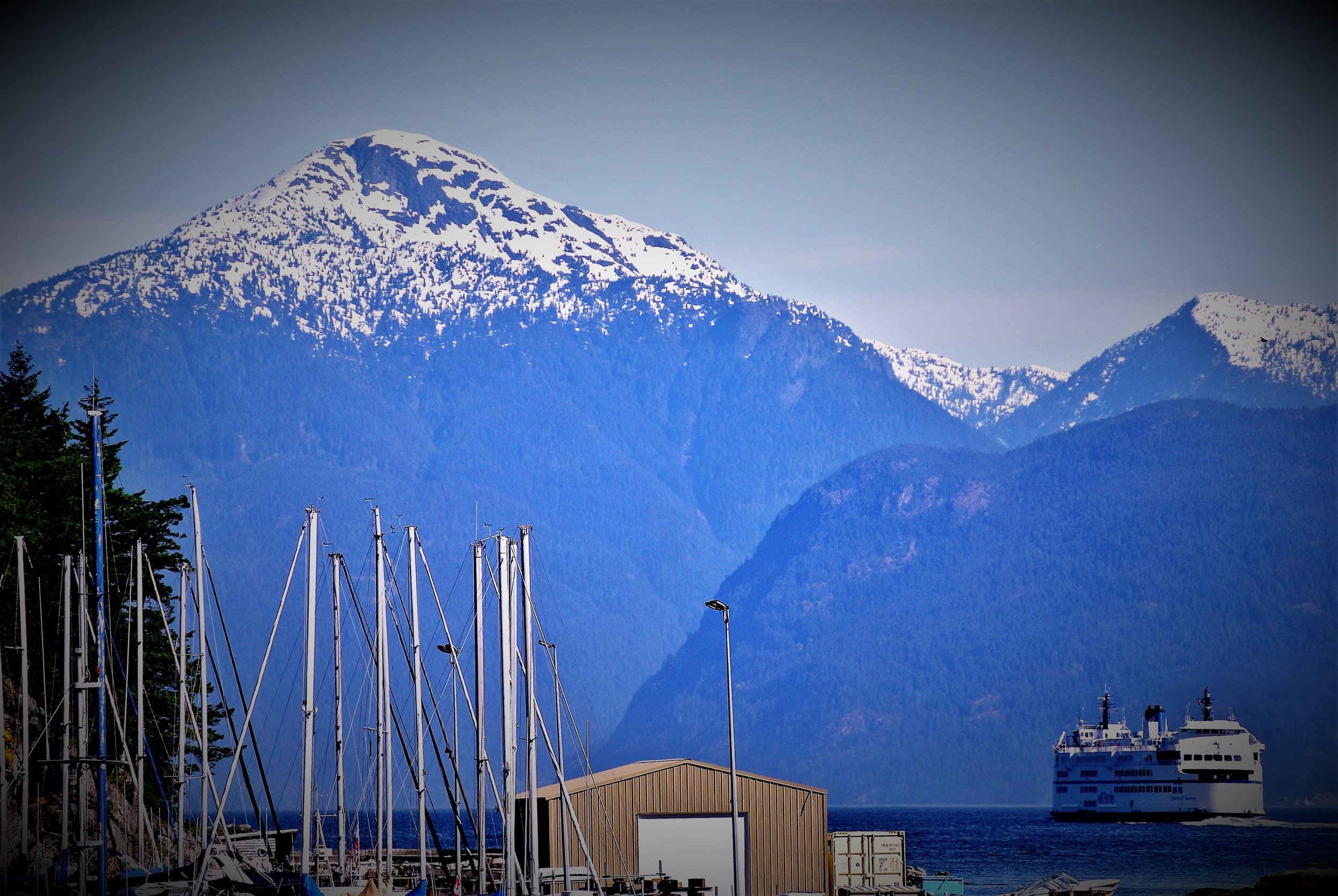 Horseshoe Bay, West Vancouver - view from the ferry terminal