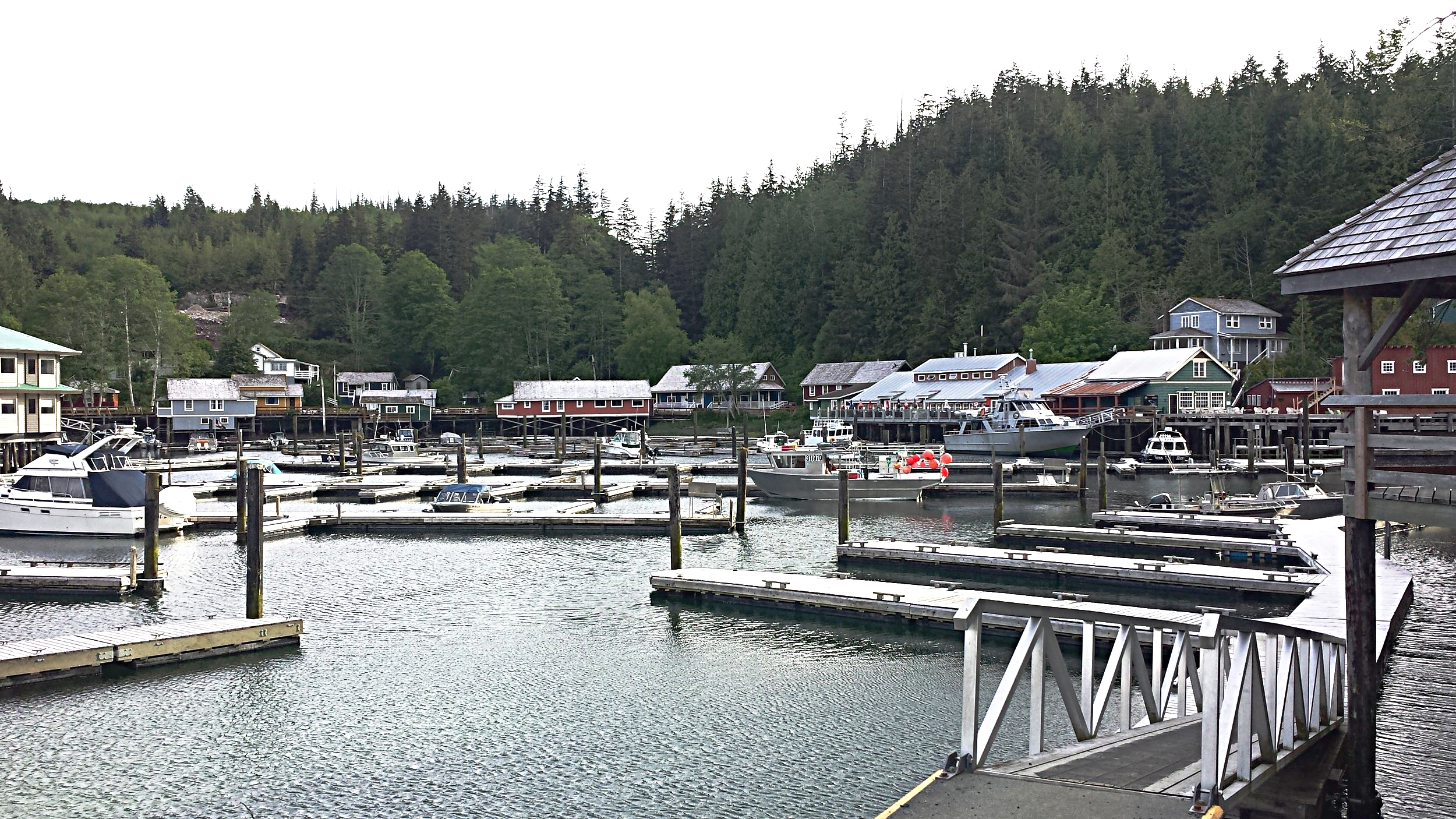 Village of Telegraph Cove