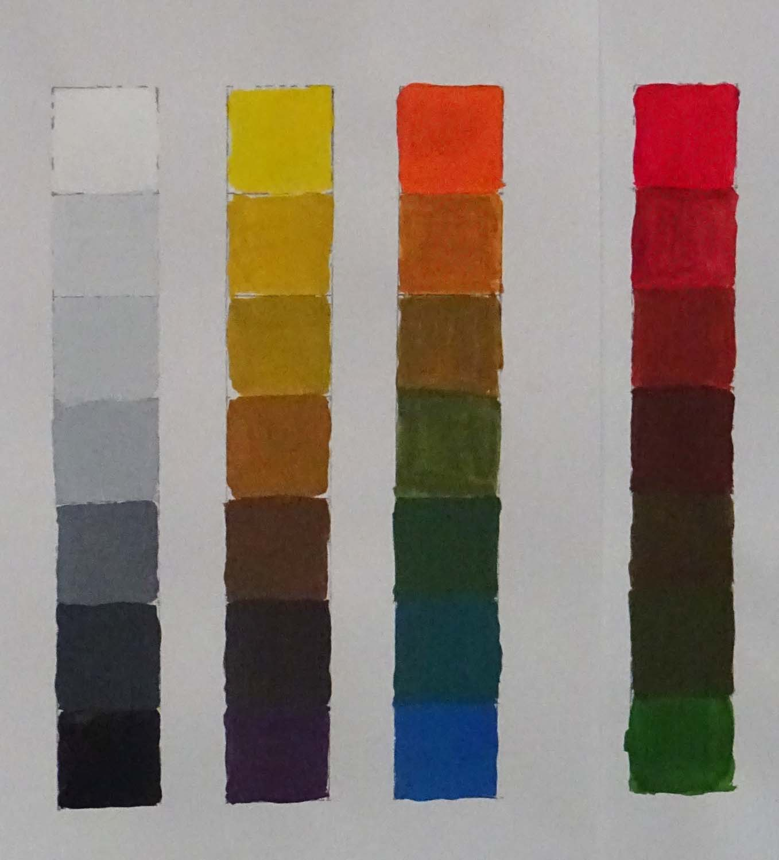 Color Wheels Carolyncollinsart
