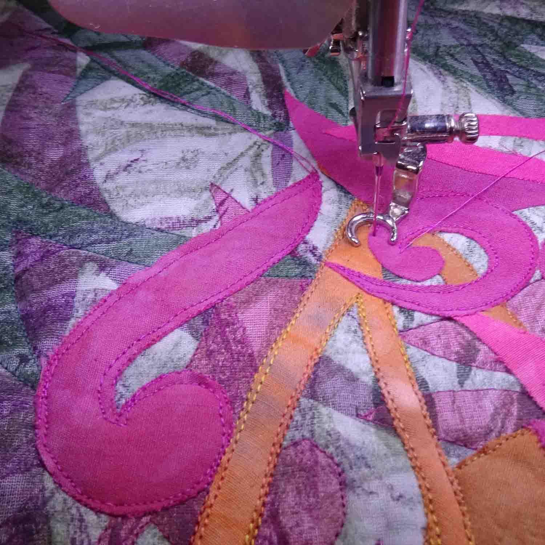 """Stitching """"Grevillea 2"""""""