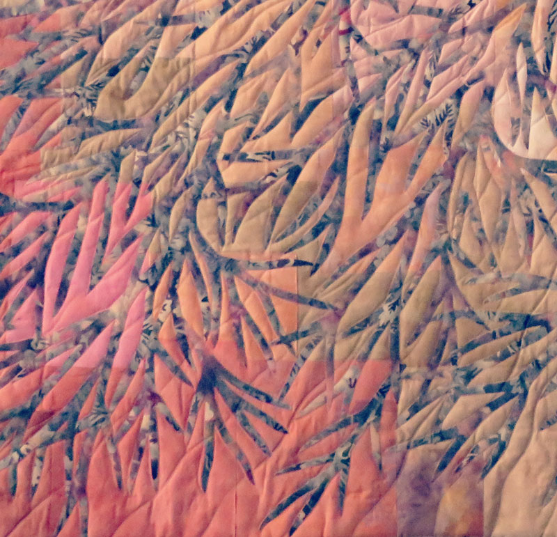 'Autumn Day on Victoria Street' Detail