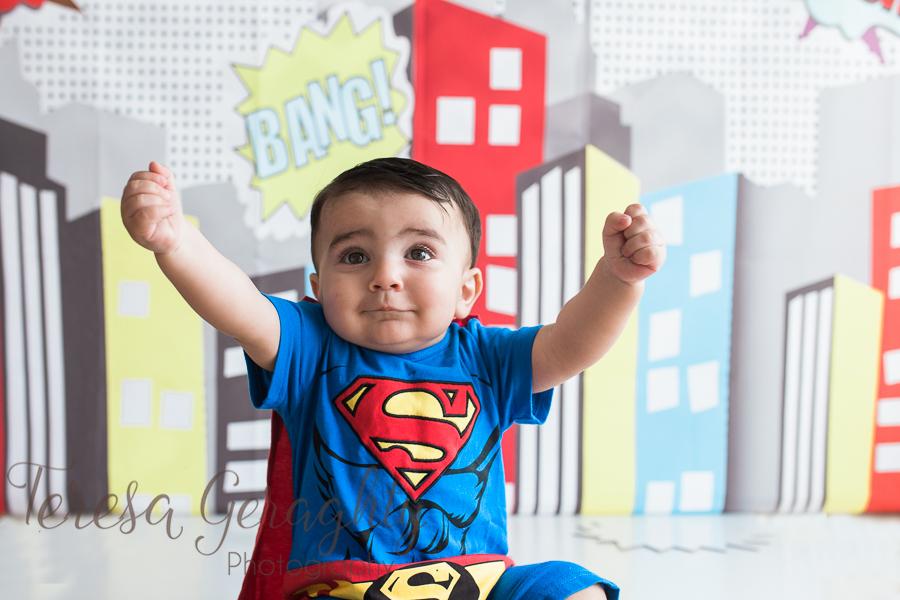 Long Island superhero birthday photos