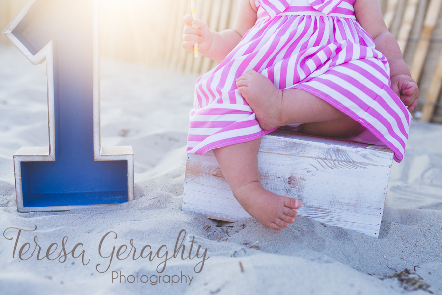 Long Island Children's photography/ Beach first birthday Session