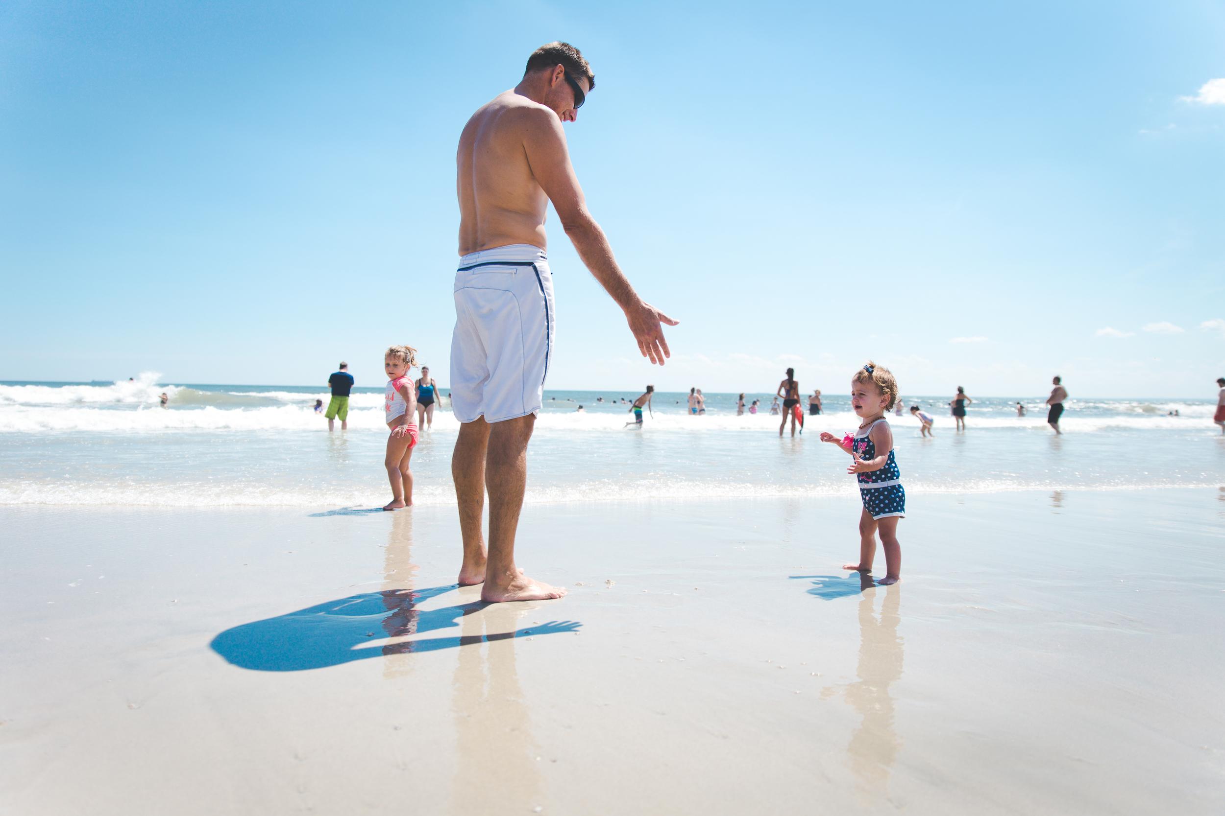 Long island beach family photography