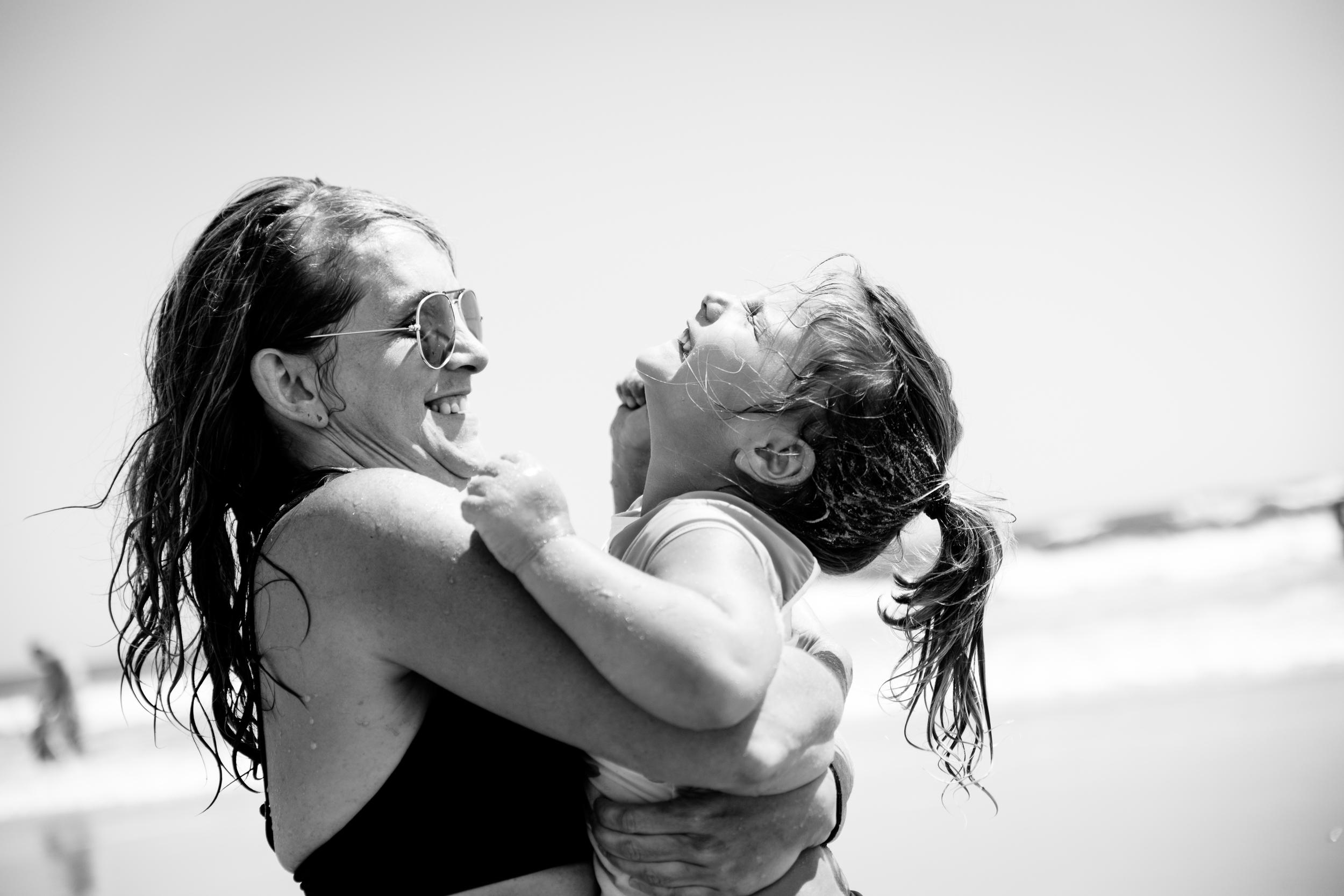 Nassau County Beach family session