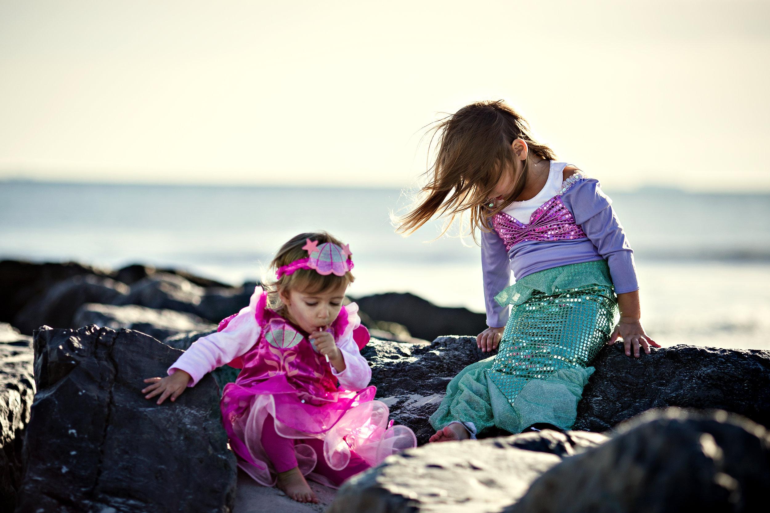 My little mermaids