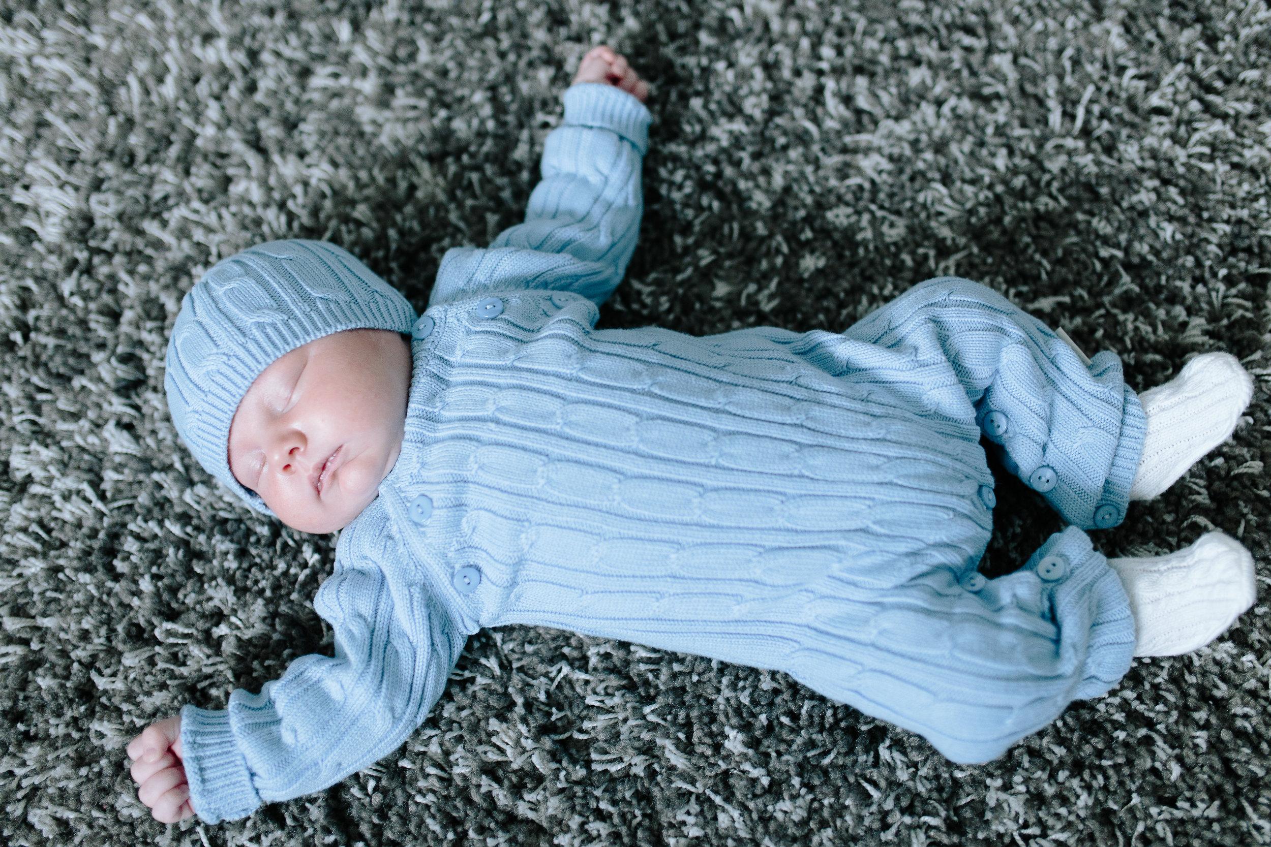 Long Island in home newborn photos