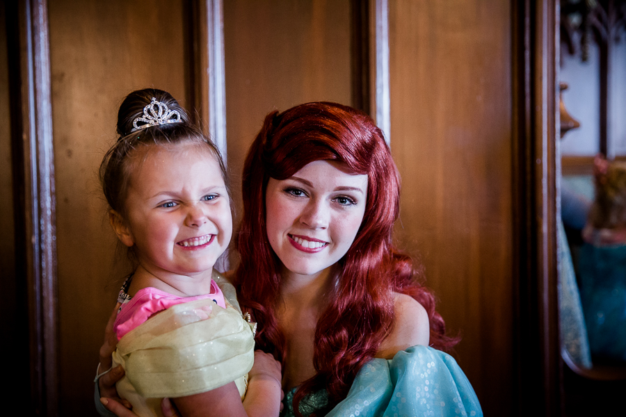 girl and ariel