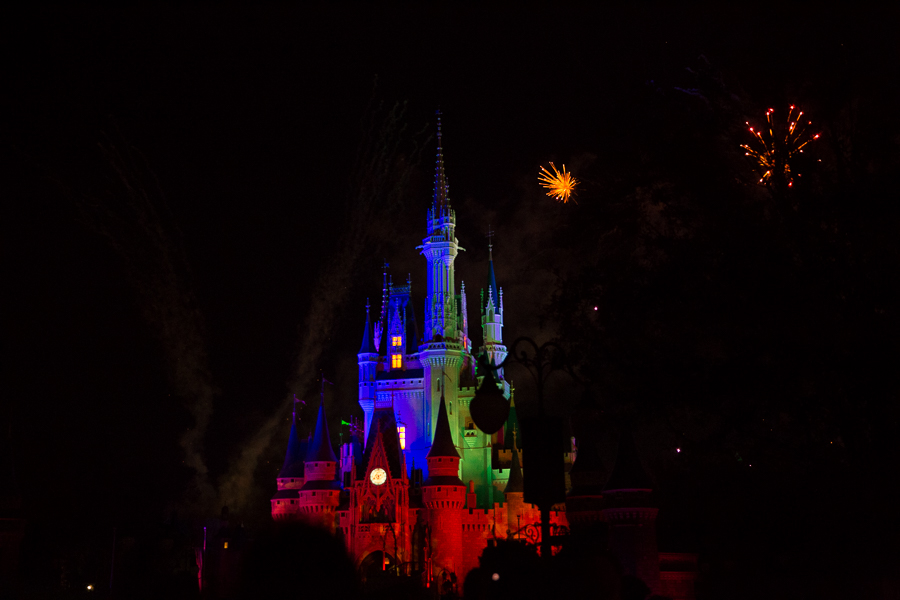 wishes fireworks show