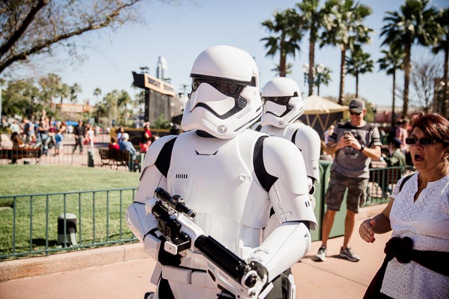 Storm troopers Hollywood studios