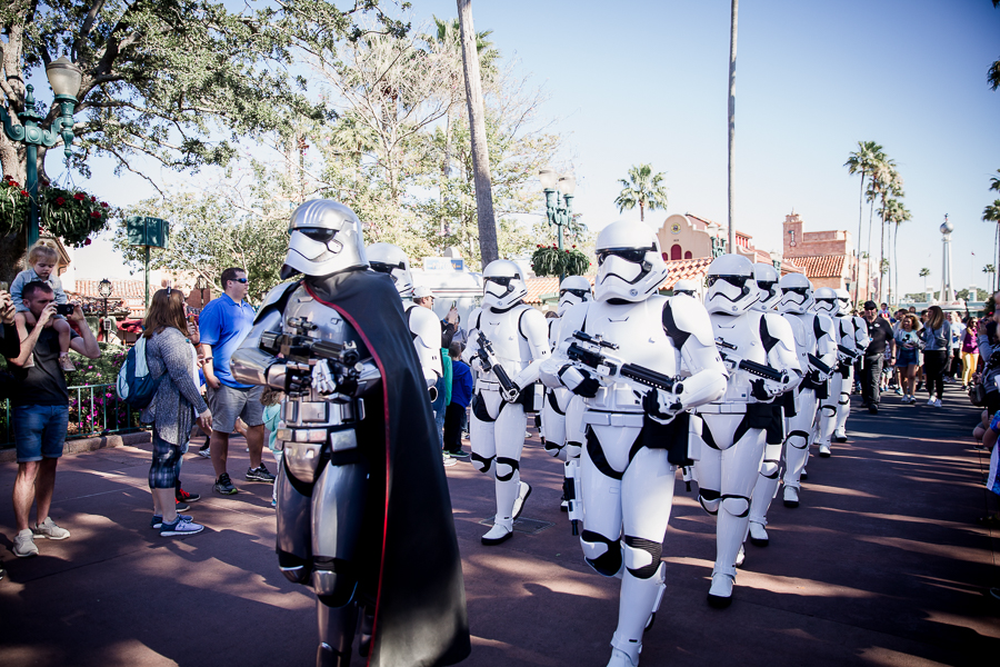 march of the first order hollywood studios