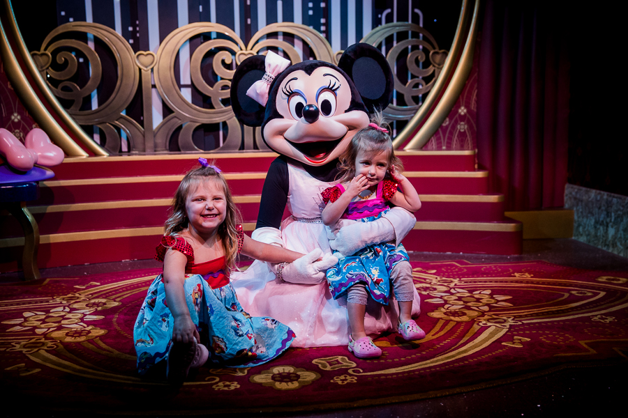 minnie and toddlers