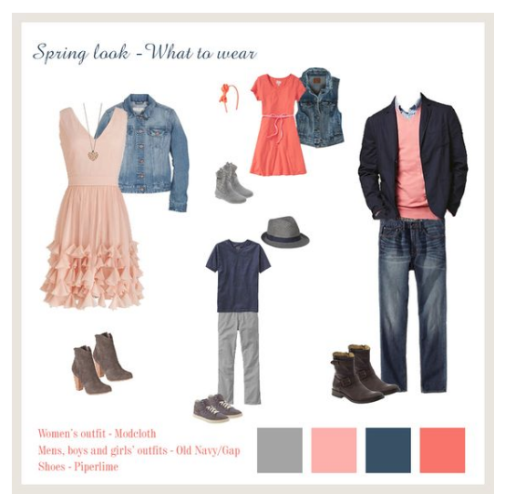 coordinate outfits for spring session