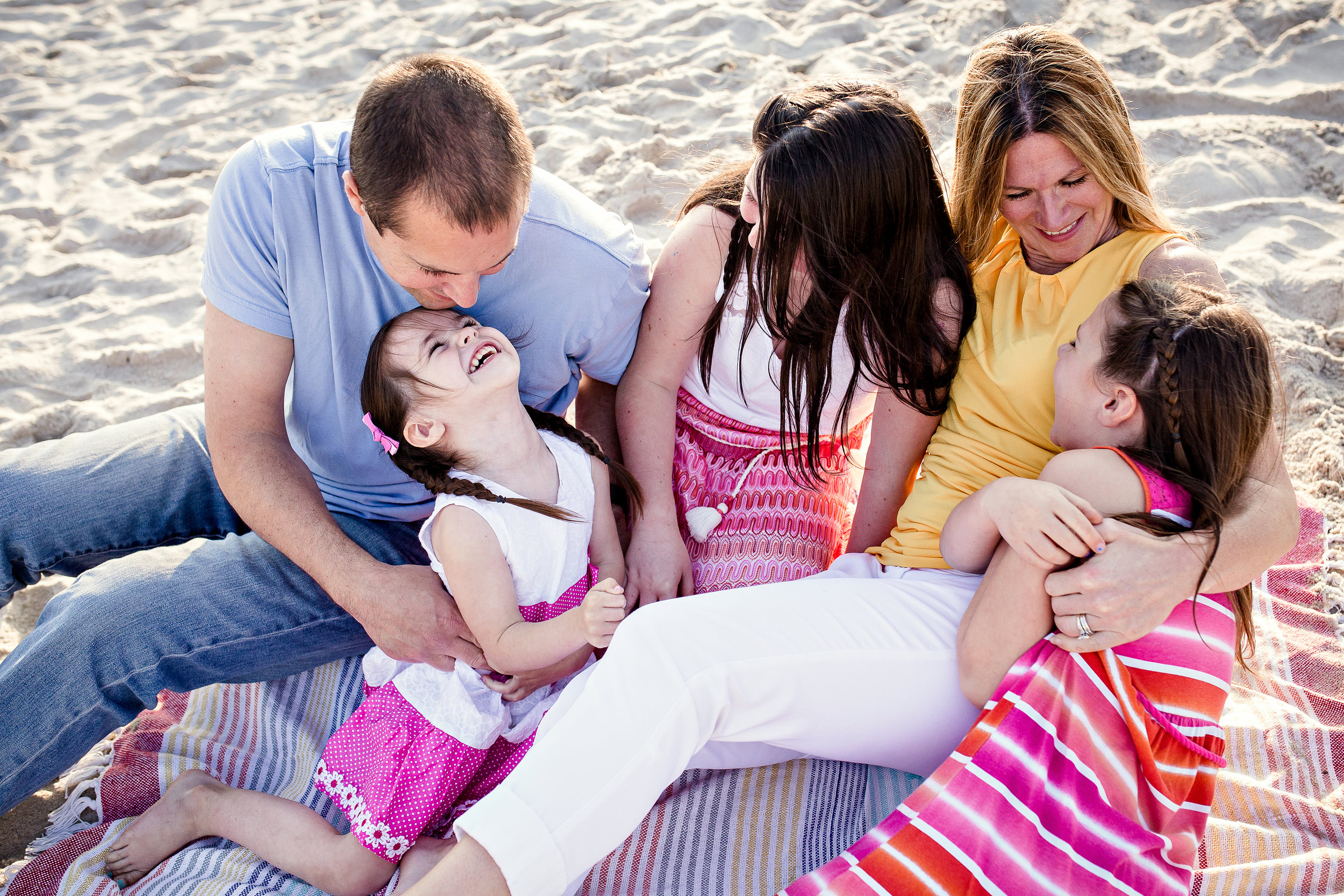 Long Island Family candid and natural beach photographer