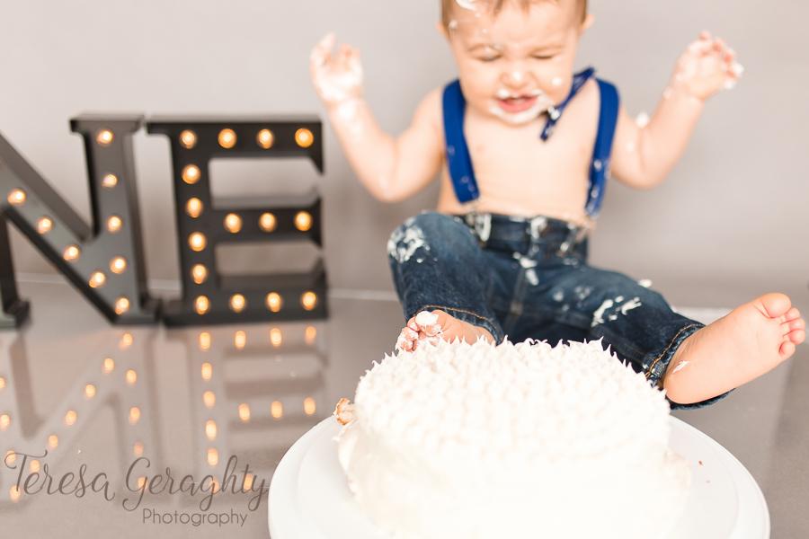 Nassau county cake smash photographer