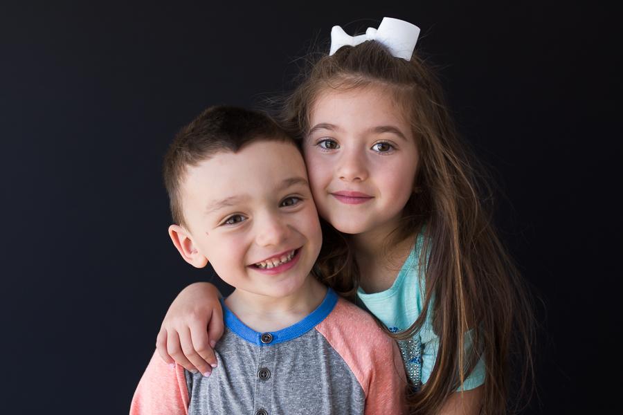 nassau county school sibling portraits