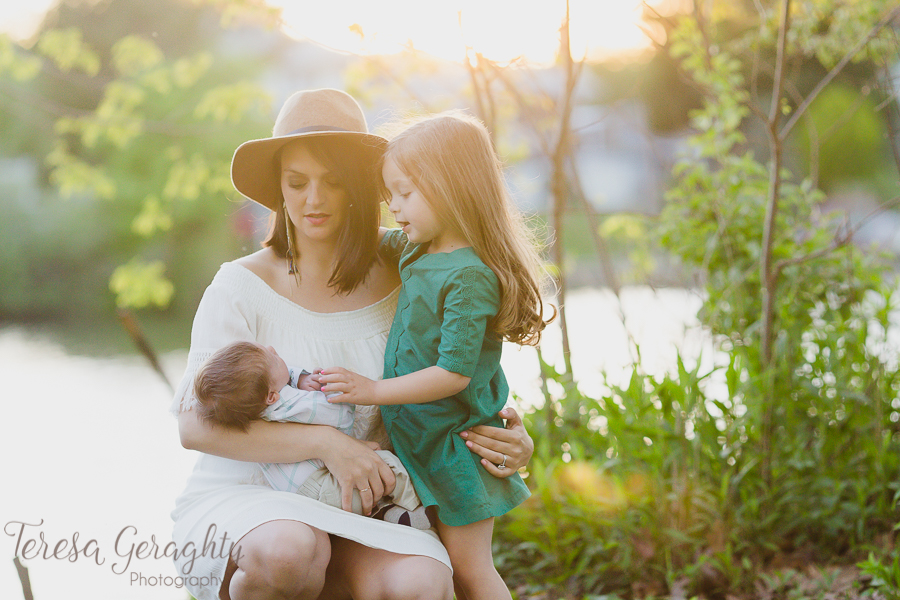 Long Island mother and child photography session
