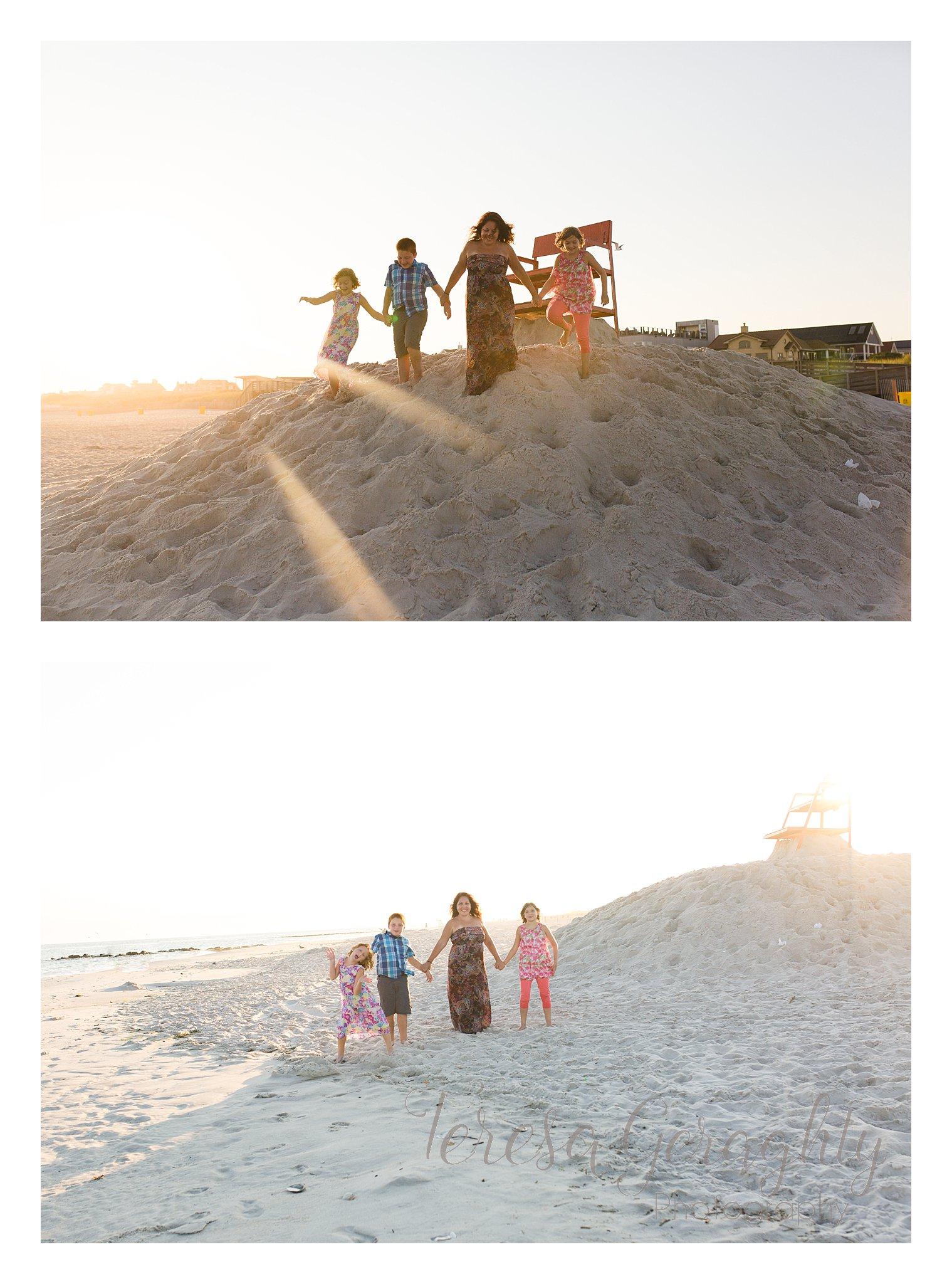 Family sunset photographer on long island