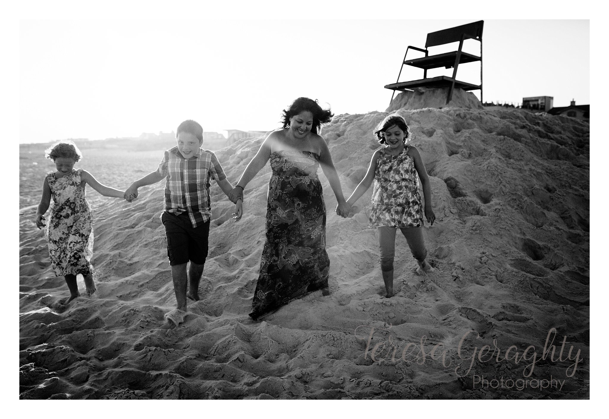Candid and natural long island family photographer