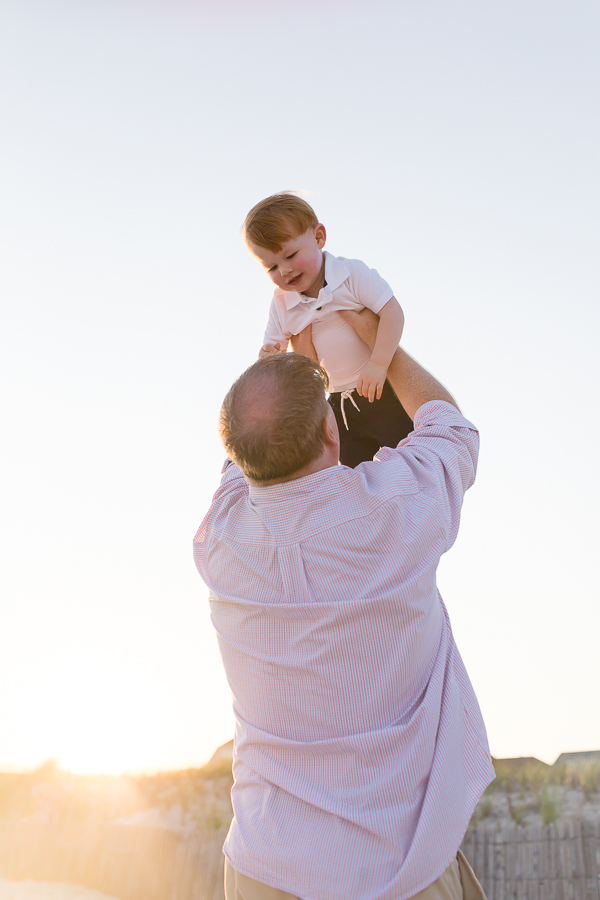Long Beach photographer for beach family pictures