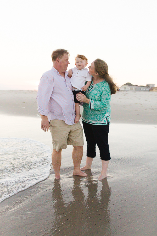 Long island family photographer for candid and lifestyle images on the beach