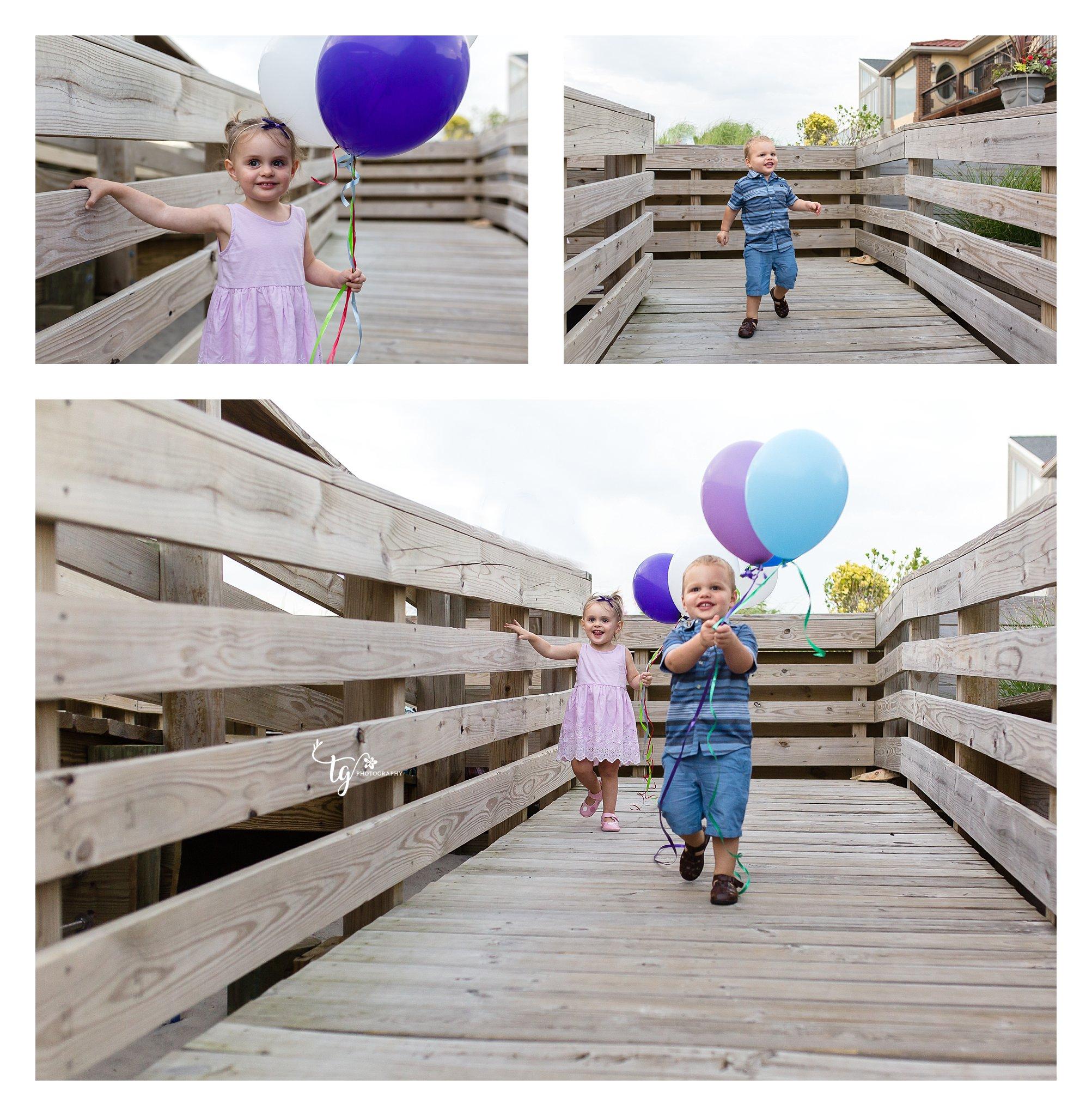Long Island Twins birthday photographer