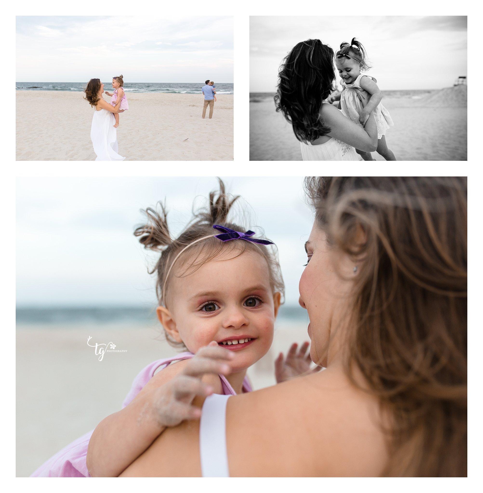 Long Island Photographer for family photos on the beach