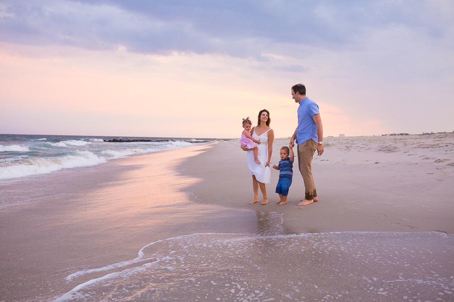 beautiful and timeless beach family photography