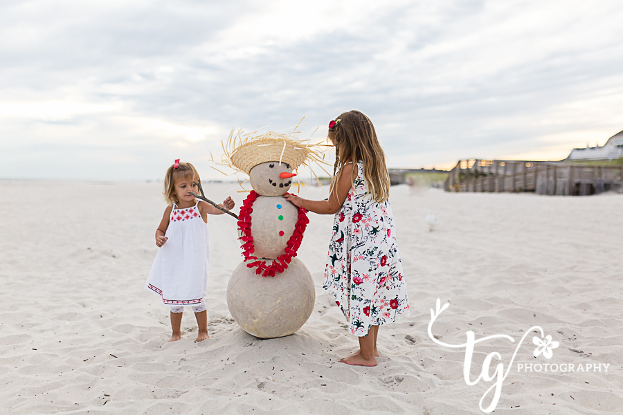 Fun and unique children's holiday mini session