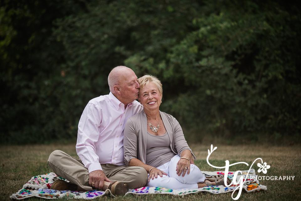 romantic anniversary session