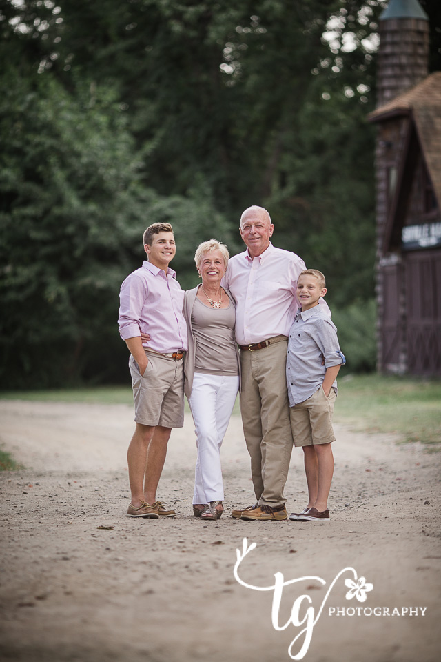 classic and timeless grandparents session