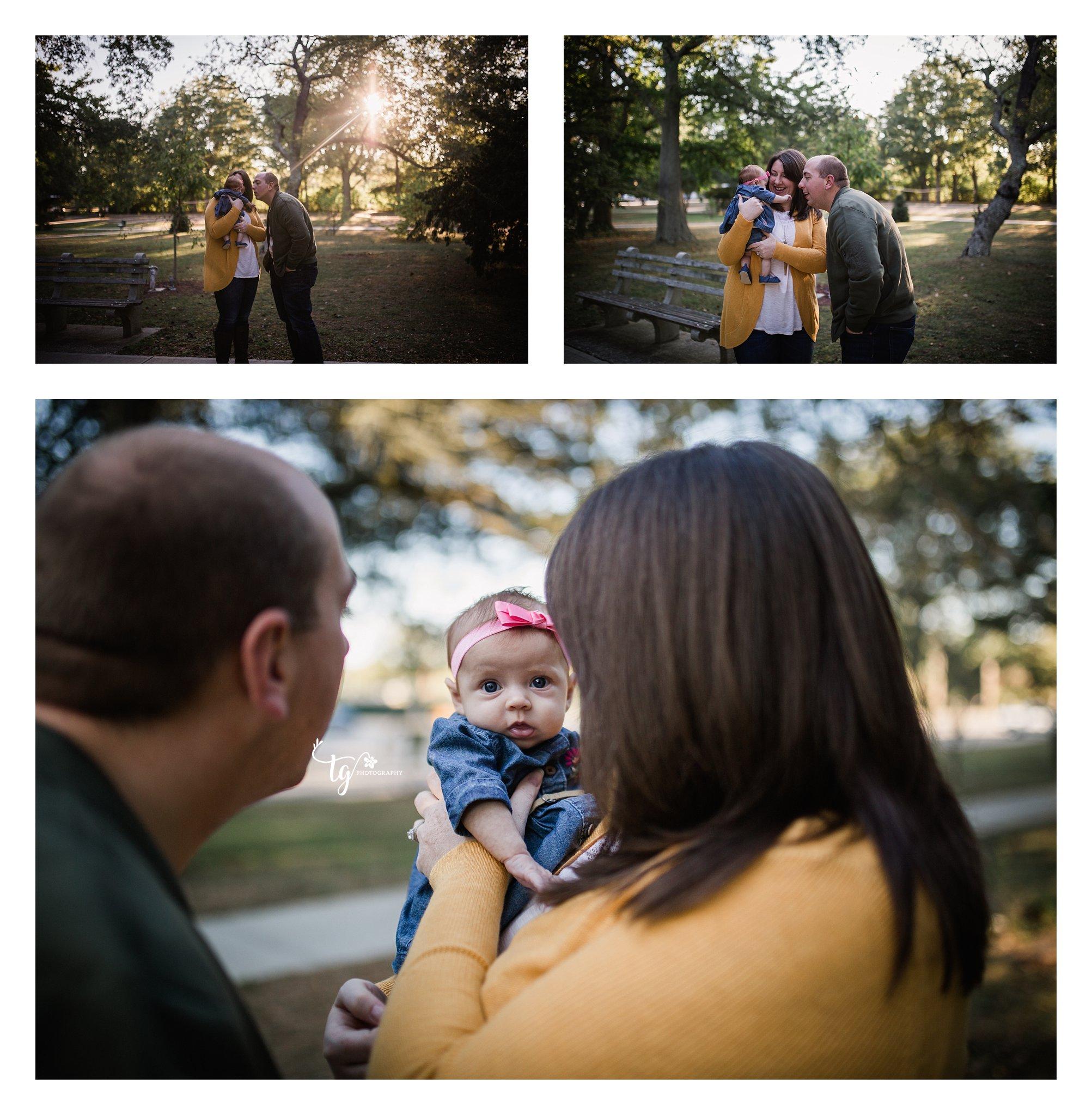 Fall family park photographer