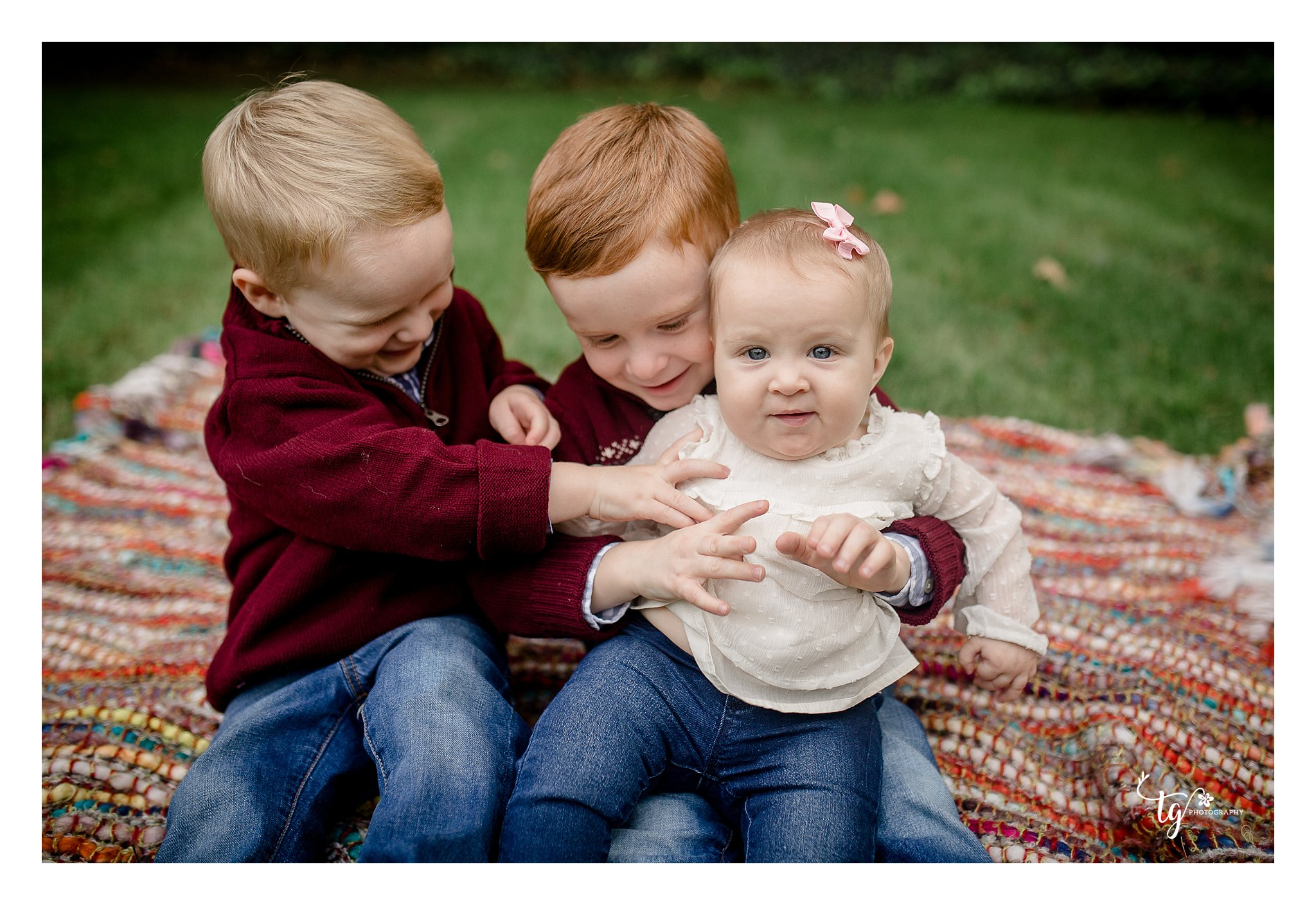 natural and relaxed children's photography