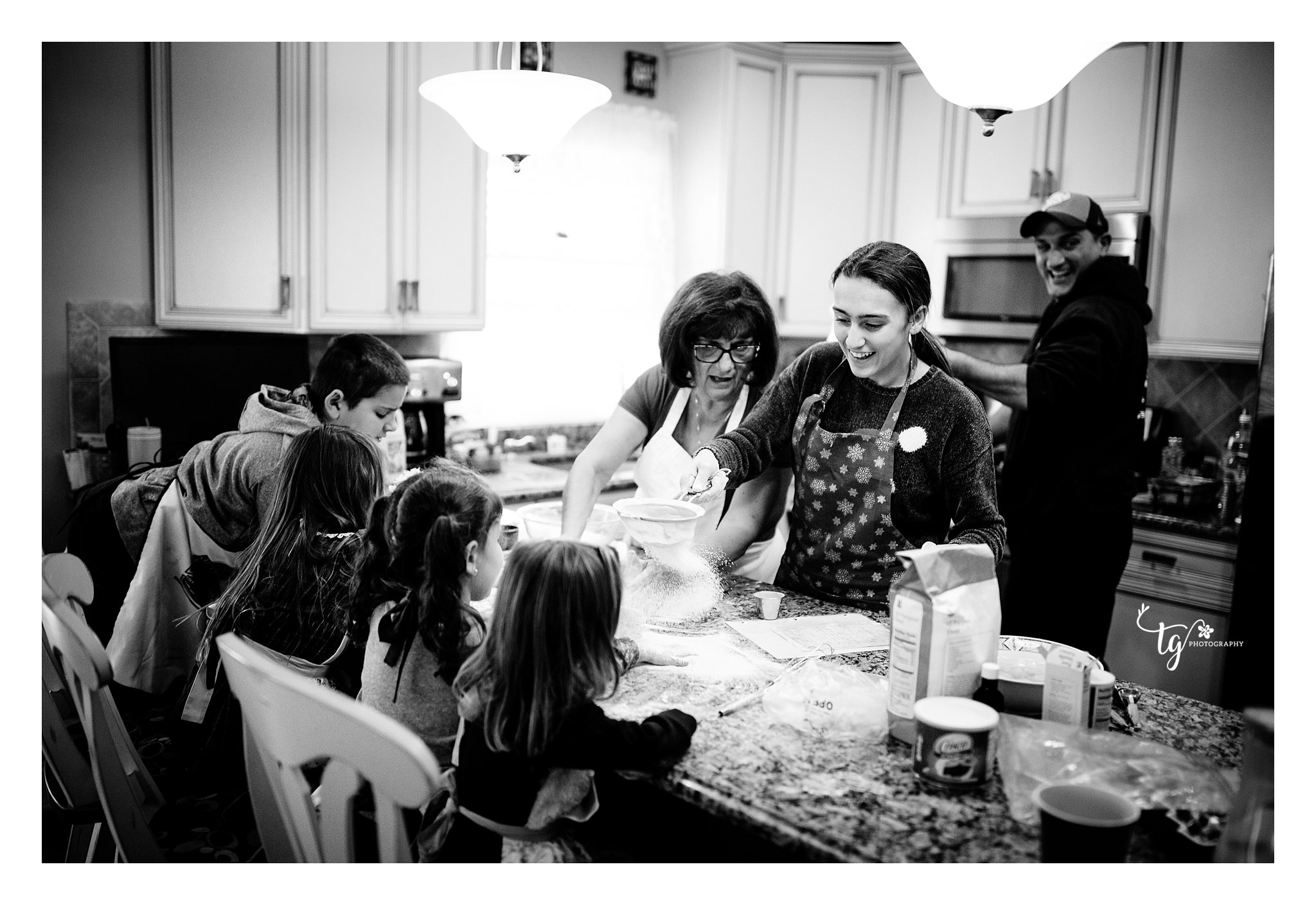 holiday family lifestyle session