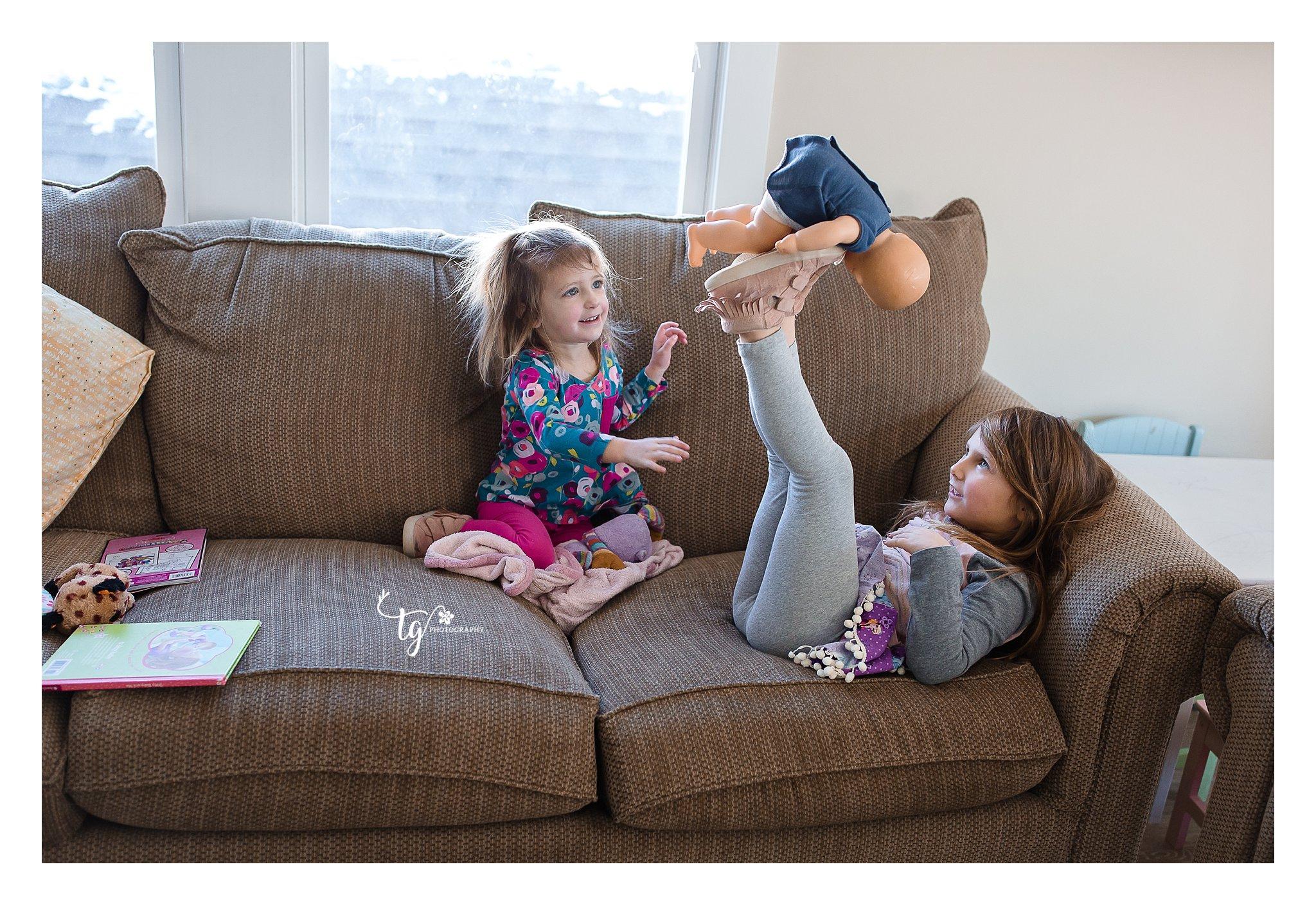 in home family documentary photos