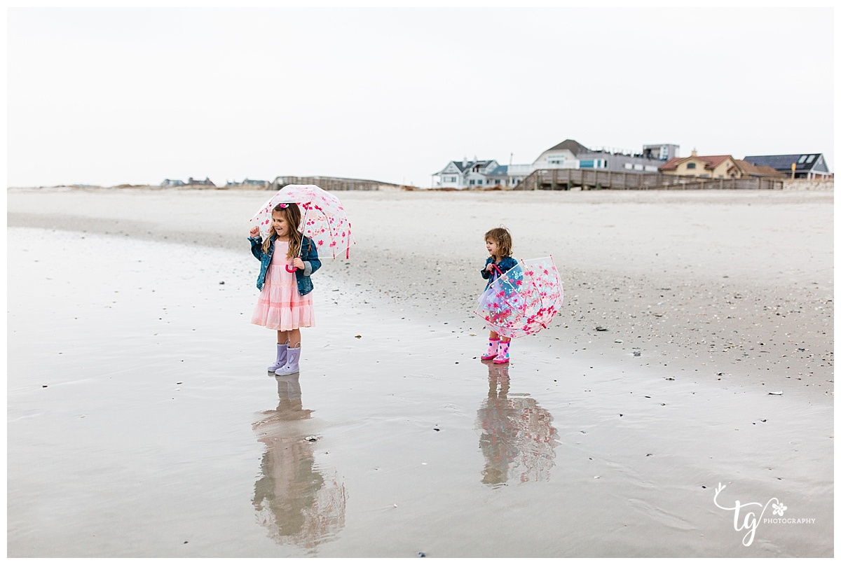 Children's beach mini session