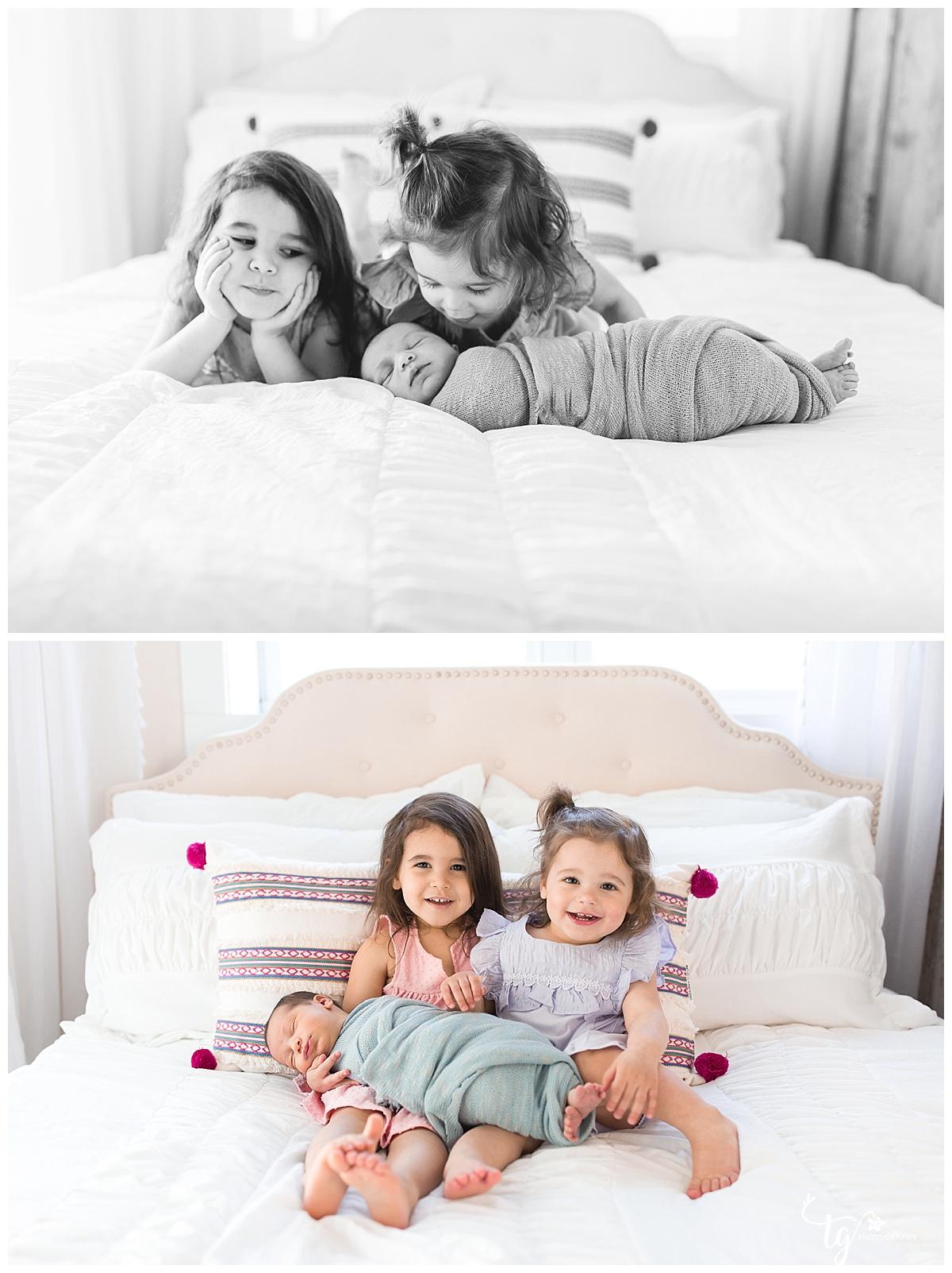 Newborn photographer for family photos