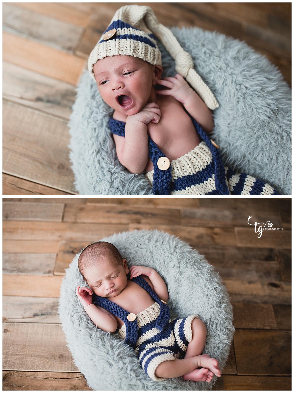 rustic newborn photos
