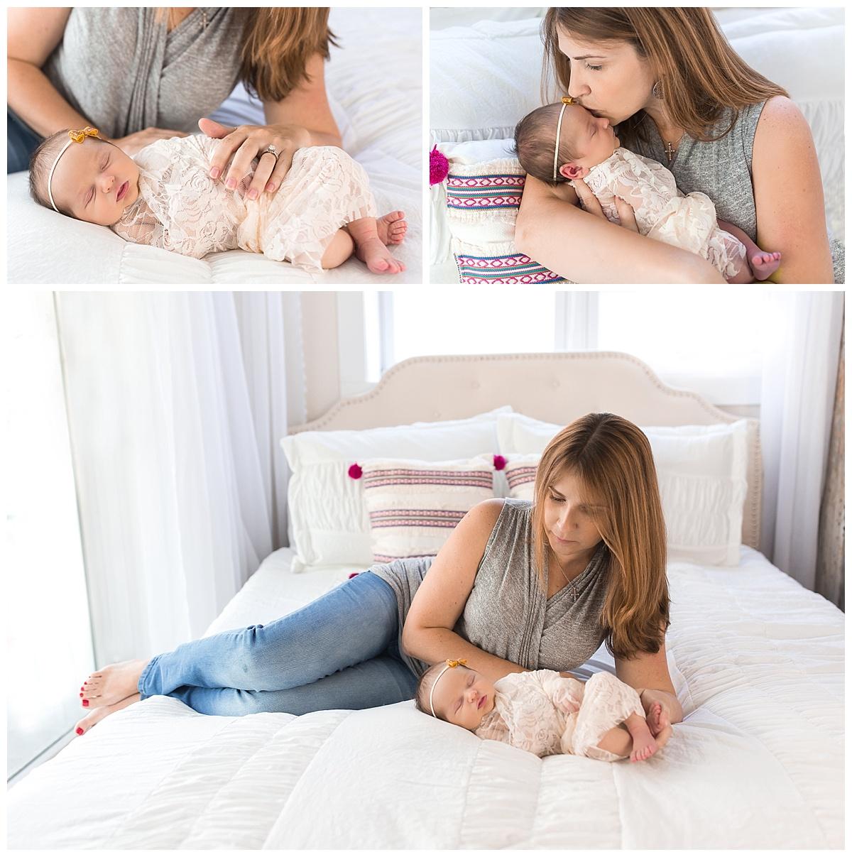 studio family newborn session