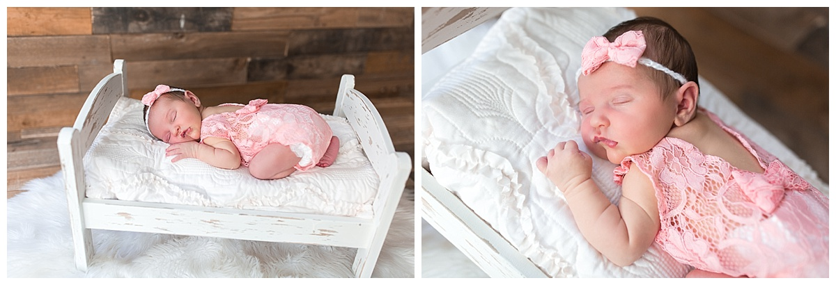 vintage rustic newborn session