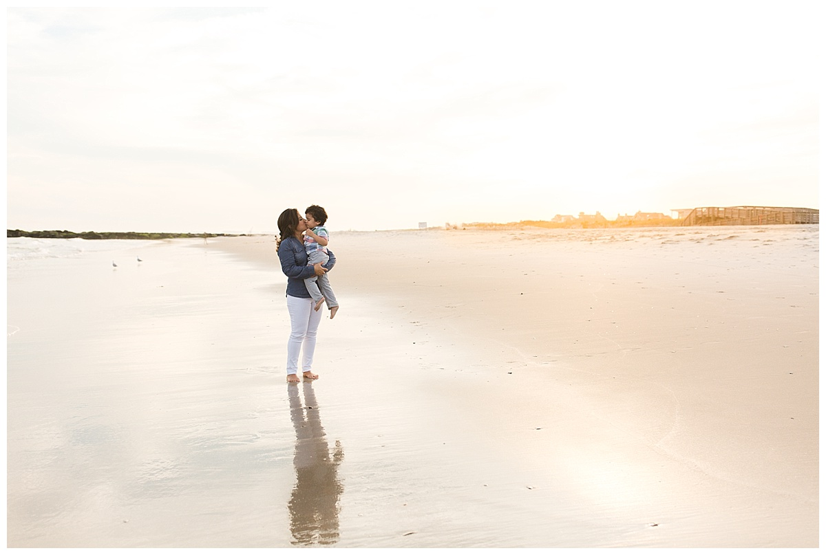 family photographer for beach photos