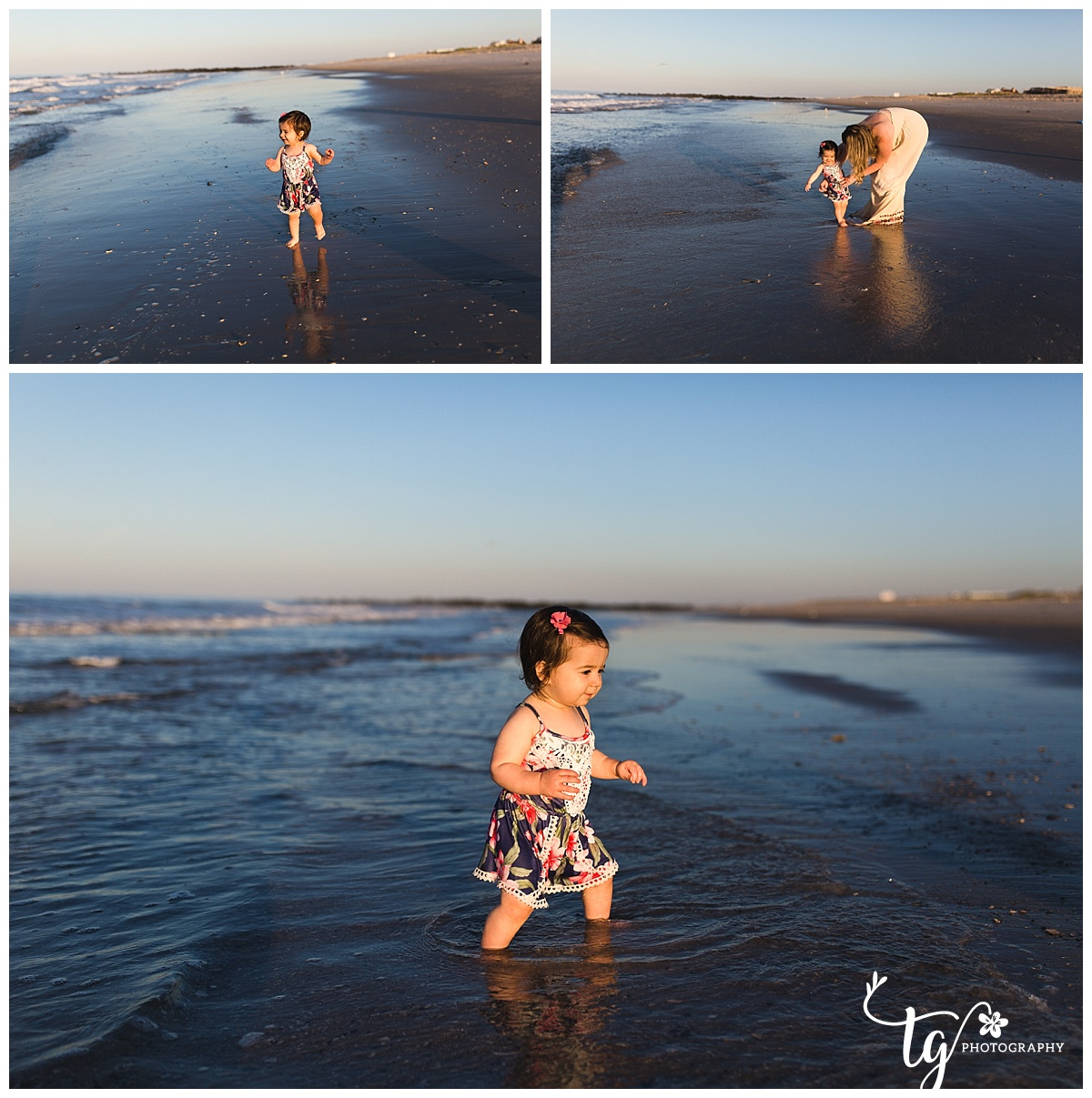 Natural beach children's phtoos