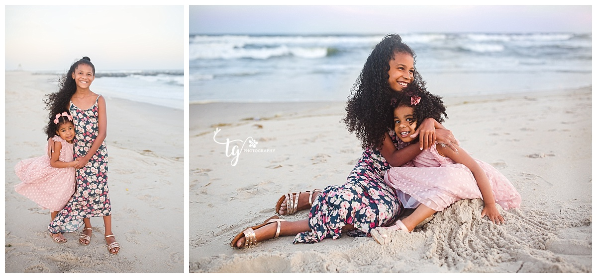 photographer for beach photos of children
